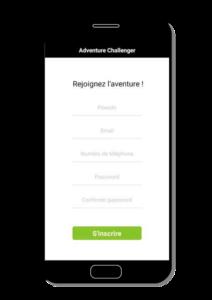 app adventure challenger